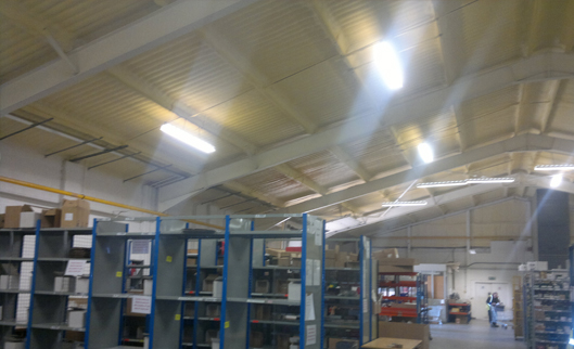 Buildbase Distribution Centre - Oxfordshire - Insulation