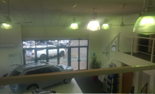 Holt Mitsubishi Showroom, Derby - Condensation & Insulation