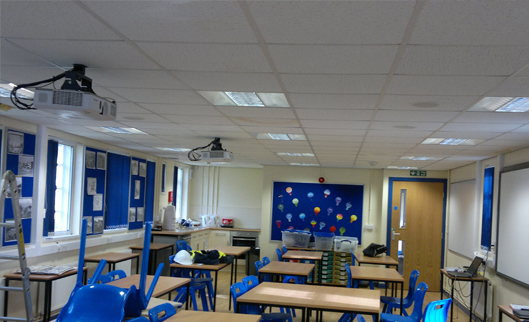 Keele University, Staffordshire - Class Rooms & Stores - Asbestos Encapsulation & Insulation