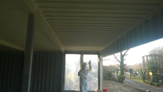 Metal roof condensation – Caernarfon – North Wales