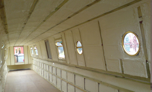 Canal Boat - Buoyancy, Condensation & Insulation
