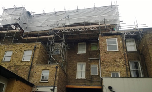 Maida Vale, Westminster, London - New build/ timber Frame